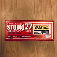 1:20 Renault F1 Team R26 30 ans 2007 Studio27 ST27-FK20217C