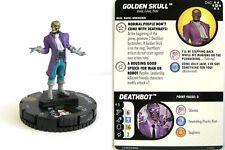 Heroclix - #040 Golden skull-Avengers Infinity