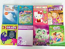 Lot 8 Homeschool Educational Math Reading Workbooks Grades 2 & 3 Florida & MORE