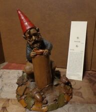 """Tom Clark Gnome Cairn Studio """"Potter""""  #81 1992 STANDS 8 1/4"""" With Story"""
