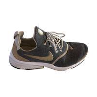 Nike Women's Presto Fly Se 910570-101 LT Orewood BRN Athletic Shoes, Size 9.5