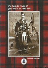 More details for the bagpipe music of john maccoll  1860-1943
