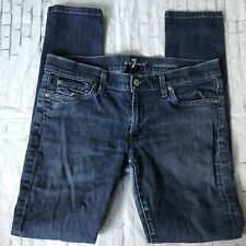 7 For All Mankind Women's Jeans 28/31 Roxanne**worn Crotch Hole**