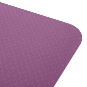 6mm Thick TPE Non-Slip Yoga Mat/Gym Mat (183x61x6cm)