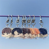 Kpop Stray Kids Cartoon Doll Keychain Keyring Key Holder Bag Pendant FELIX HAN
