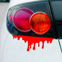 3D   Roten Blut  FUN JDM DUB Car Decals Sticker Aufkleber Kontur Red Blood - # 2