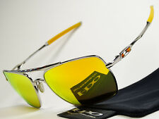 Oakley Deviation Chrome Fire Sonnenbrille Whisker Inmate Plaintiff Probation Why