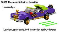 Lego Batman Movie NEW 70906 The Joker Notorious Lowrider no figs big pimpin 2017