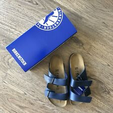 (Free Shipping) BIRKENSTOCK Arizona Sandals - Blue / Size 41