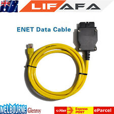 Ethernet to OBD Interface Cable E-SYS ICOM Coding F-series OBD2 for BMW ENET LIF