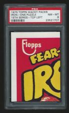 1975 Topps Wacky Packages Iron-Ons Puzzle Top Left PSA 8 15th series