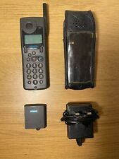 Siemens S6 PCN Mobile Phone with Charger & Case   Retro Vintage   SPARES REPAIRS