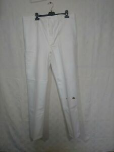 pantalon blanc de travail en coton neuf , mais ancien / d166