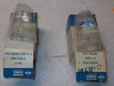 1960 Galaxie / Sunliner FOMOCO Park Lens Set LH/RH  New Old Stock