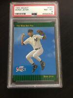 ⚾️ 1993 Score Select #360 Derek Jeter RC PSA 8 NM-MT New York Yankees HOF ⚾️