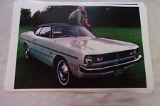 1971 DODGE DEMON   11 X 17  PHOTO  PICTURE