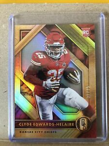 2020 Panini Gold Standard CLYDE EDWARDS-HELAIRE RC Rookie SP #31/75 KC CHIEFS