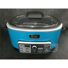 Ninja CS970QFM 4 in 1 Cooking System with Auto iQ, Teal, 1200W