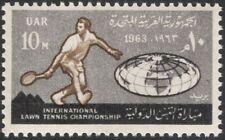 Egypt 1963 International Lawn Tennis Championships/Sports/Games 1v (n44546)