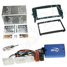 Clarion volante Interface + Toyota Auris e1 2007-2012 doble DIN radio diafragma negro