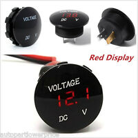 Car Truck DC 0-33V Red LED Digital Voltmeter Voltage Panel Meter Display Gauge