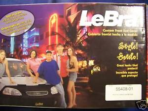 LeBRA 55408 FRONT END COVER / BRA Fits 92-95 PONTIAC GRAND AM SE