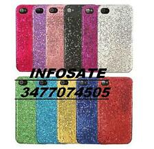 COVER CUSTODIA IPHONE 4G 4GS rigida BRILLANTATA NERA NO  LOTTO STOCK