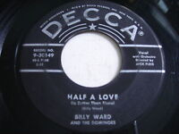 Billy Ward and the Dominoes Half a Love / Evermore 1956 45rpm