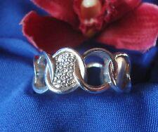Schöner Esprit Ring aus 925 Silber Fingerring Silber mit Steinchen / Art. gg 019