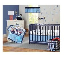 Garanimals 3-Piece Boating Buddies Monkey Nursery Crib Set BABY SHOWER GIFT