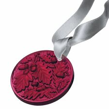 Lalique crystal 2016 annual christmas ornement chene (chêne) rouge 10549600