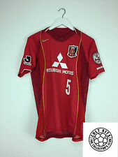 URAWA RED DIAMONDS #5 2004 *MATCH ISSUE* Football Shirt (S) J-League