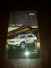 "2012 Jeep Grand Cherokee Owner's Manual ""Book Only"""