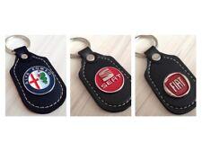 Schlüsselanhänger aus Leder Anhänger Logo Emblem  ALFA ROMEO FIAT SEAT
