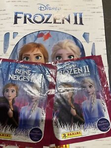 Panini frozen 2 Album Six Loose Stickers And Eight Unopened sticker Packs
