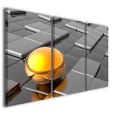 Quadri canvas Digital Golden Ball stampe su tela design moderno quadro su tela