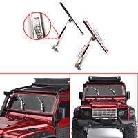 1Pair Simulated Metal Wipers Window Screen Windshield for 1/10 TRX4 SCX10 RC Car