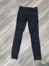 Bcbg leopard Print Black Jeans