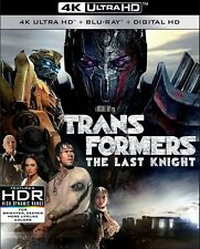 Transformers The Last Knght- 4K Ultra HD Blu ray HDR NEW UK in STOCK NOW
