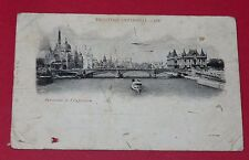 CPA 1900 CARTE POSTALE FRANCE 75 PARIS EXPOSITION UNIVERSELLE PANORAMA EXPO