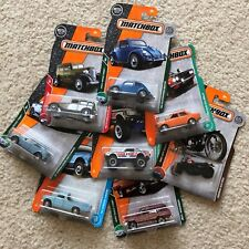 2017-2019 Matchbox Cars - Selection - CHASE - VW Beetle, Wagoneer, Karmann Ghia
