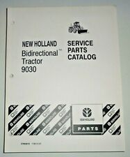 New Holland 9030 Bidirectional Tractor Parts Manual Catalog Book NH Original!