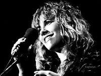 STEVIE NICKS Gloss 8 x 10 Photo Music Fleetwood Mac Print Black & White