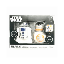 Funko Official Star Wars R2-D2 & BB-8 Ceramic Breakfast Egg Cup Set - Boxed