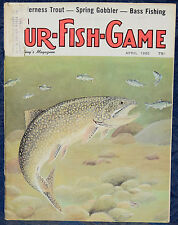 Magazine *Fur-Fish-Game* APRIL, 1980 !!! *WILDERNESS TROUT*, SPRING GOBBLER !!!