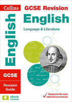 GCSE 9-1 English Language and English Literature Revision Guide by Collins GCSE