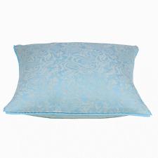 Shade Aqua Jacquard Cushion Cover