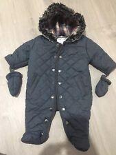 Outerwear Precise Baby Snowsuit 0-3 Months Tu Hardly Worn.