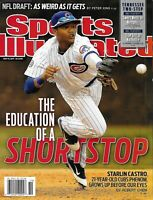 Sports Illustrated Magazine Shortstop Starlin Castro NFL Draft NHL Playoffs 2011