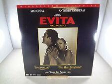 Evita - Widescreen - Laserdisc LD - 11853 AS - Madonna